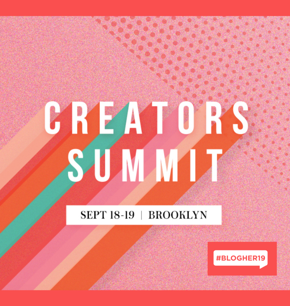 BlogHer Creators Summit Conference 2019 NYC