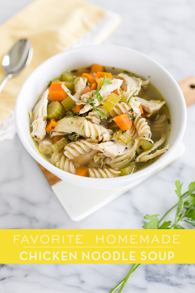 Easy Homemade chicken noodle soup recipe Pressure cooker